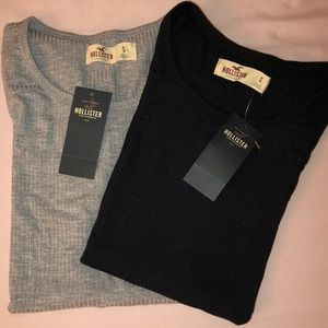 Hollister fitted tees